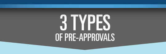 """""""Getting Pre-Approved Just Isn't Enough"""" – Here are 3 Different Types of PreApprovals"""