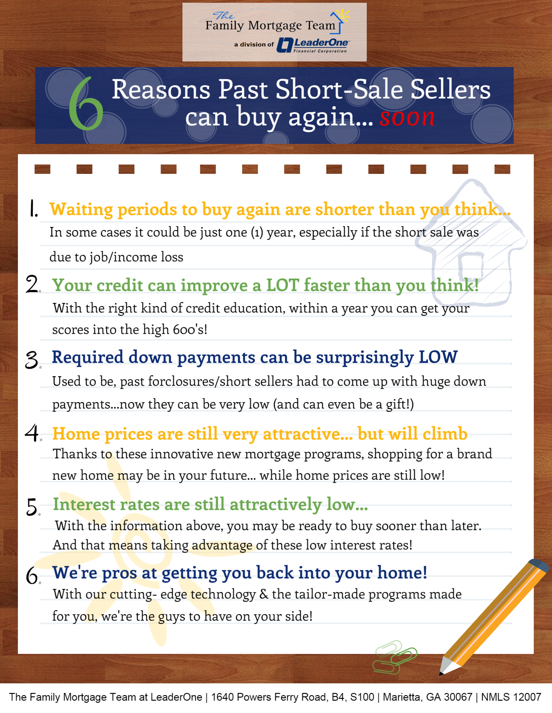 6 Reasons Short Sale Victims should buy again